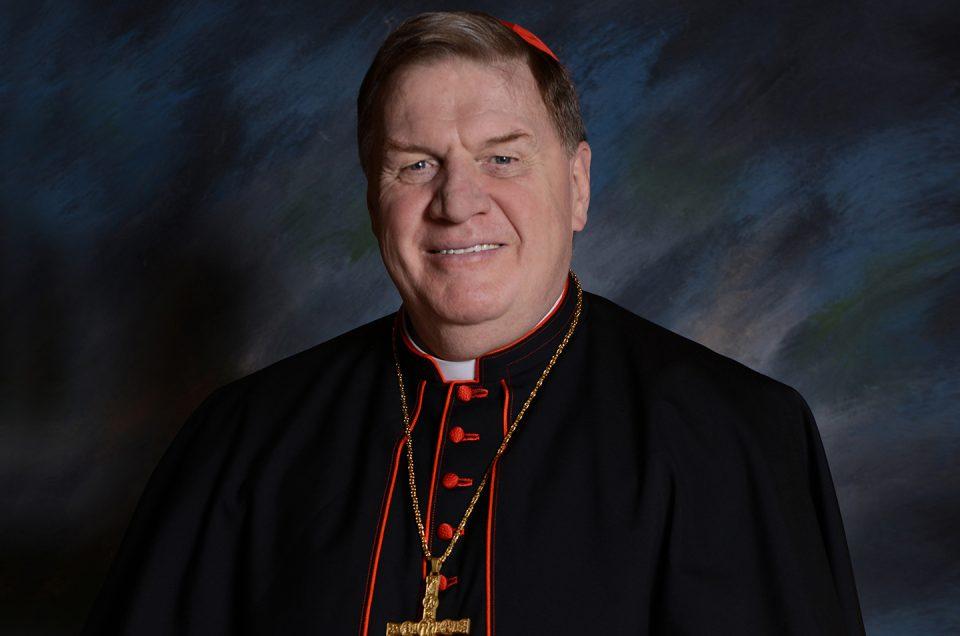 Cardinal Joseph William Tobin, C.Ss.R.
